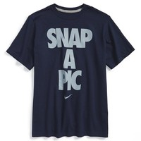 Boy's Nike 'Snap a Pic' Graphic Cotton T-Shirt