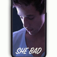 iPhone 6 Case - Rubber (TPU) Cover with Cameron Dallas She Bad To Number One Rubber Case Design