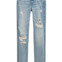H&M Straight High Jeans $39.99