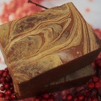Handmade Soap - Cranberry Pomegrante White Tea and Cocoa Butter Soap