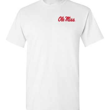 Official NCAA University of Mississippi Rebels Ole Miss Hotty Toddy Short-Sleeve T-Shirt - 36OLM1