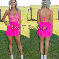 Barbie Lace Romper