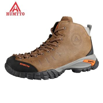 sale hiking shoes men winter sapatilhas mulher trekking boots climbing outdoors women shoe camping Genuine Leath rubber lace-up