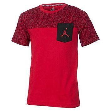 NIKE Air Jordan Pocket T-Shirt BOYS YOUTH ATHLETIC TOP TEE (L 12/13)