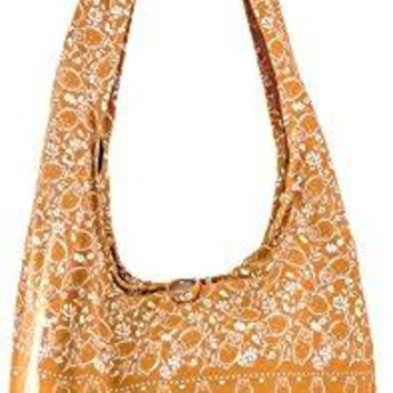 Sling Cross body BAG COTTON over 40 prints sustainable living eco friendly shopping bag