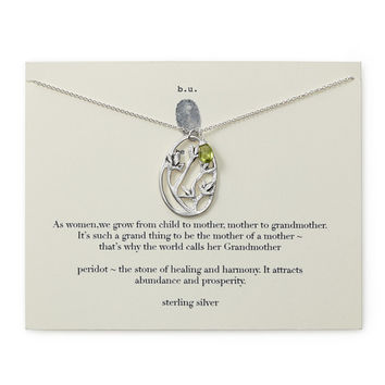 It's A Grand Thing Necklace | peridot