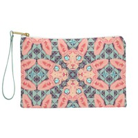 Chobopop Sphynx Cat Blue Pattern Pouch