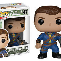 Pop! Games - Fallout - Lone Wanderer 47 Vinyl Figure (New)