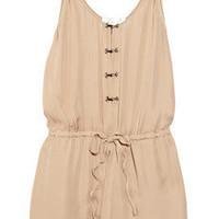 A.L.C. Dropped-waist silk dress - 65% Off Now at THE OUTNET