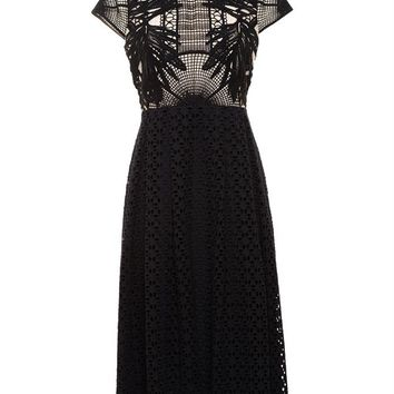 Guipure Lace Shirly Dress - ERDEM