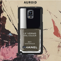 Chanel Nail Polish Mysterious Samsung Galaxy Note 4 Case Auroid