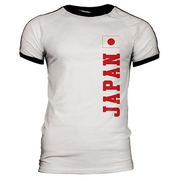 World Cup Japan Mens Soccer Jersey T-Shirt