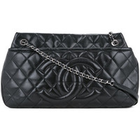 Chanel Vintage Quilted Jumbo Shoulder Bag - Farfetch