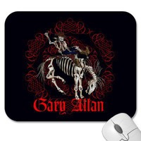 Gary Allan Bronco Mousepad from Zazzle.com