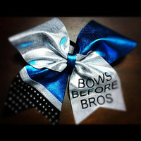 Bows Before Bros on Turquoise and Silver 3 by ElisesPiecesBows