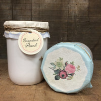 Brandied Peach Preserves Candle