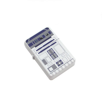 Fliptop Windproof Lighter - R2D2