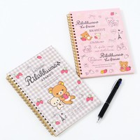 La Fraise a Paris Rilakkuma Spiral-Bound Notebooks