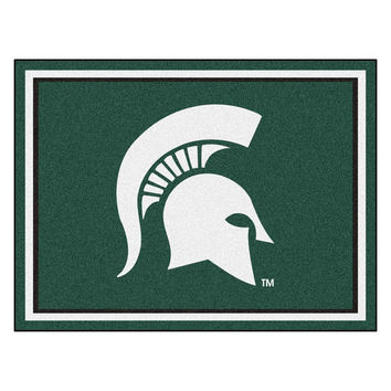 Michigan State Spartans NCAA 8ft x10ft Area Rug