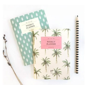 A6 Travel Mini Weekly Planner