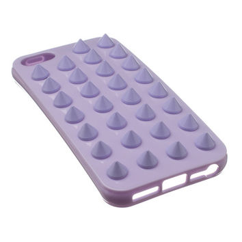 Tonal Lavender studded iPhone 5 case