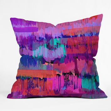 Holly Sharpe Midsummer Nights Throw Pillow