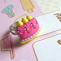 Its Your Party - Adjustable Celebrate with Cake Ring - OneUnglyUnicorn