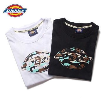 hcxx 688 Dickies Short-sleeved camouflage T-shirt for men and women in pure cotton