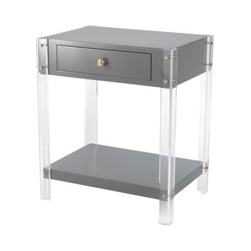 351-10272 Gothenburg 1 Drawer Accent Table - Free Shipping!