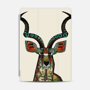 antelope kudu ivory iPad iPad Air 2 cover by Sharon Turner | Casetify