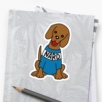 'The Office -- Nard Dog' Sticker by Coward