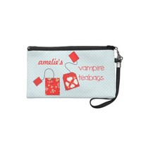 Indiscreet Vampire Teabags Pouch for Tampons from Zazzle.com