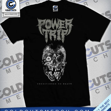 "Cold Cuts Merch - Power Trip ""Conditioned To Death"" Shirt"