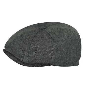 "Bailey ""Dumas"" Lined Cotton Newsboy Cap"