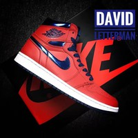Air Jordan 1 Retro High OG David Letterman Sneaker US Size 8-12