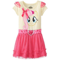 My Little Pony - Fluttershy Head Toddler Tunic Dress With 3D Wings
