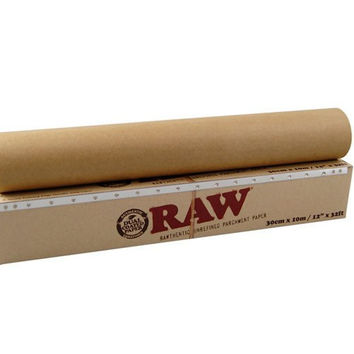 "RAW Unrefined Parchment Paper 30cm x 10m (12"" x 32ft)"