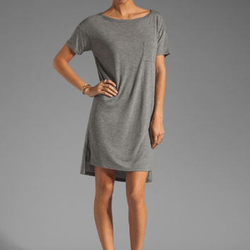 Boatneck Jersey Dress (T by Alexander Wang)