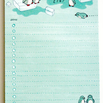 Penguin To-Do List Notepad