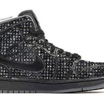 Air Jordans , Nike Air Shoes , Custom Shoes with Swarovski elements , Nike Shoes