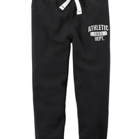 Brushed Fleece Joggers