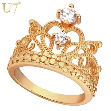 U7 Crown Ring