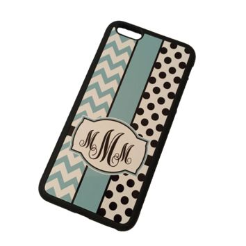 Polka My Chevy Monogram Phone Case