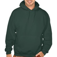 Mens Deep Forest Hooded Sweatshirt - Customize it