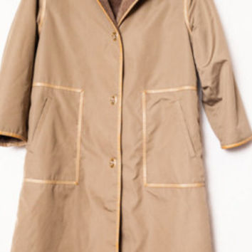 Vintage Women's Trench Coat, 70s Bonnie Cashin Coat, Designer Winter Trench Coat, Faux Sherpa Lining with Gold Toggles, - Edit Listing - Etsy
