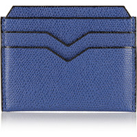 Valextra - Textured-leather cardholder