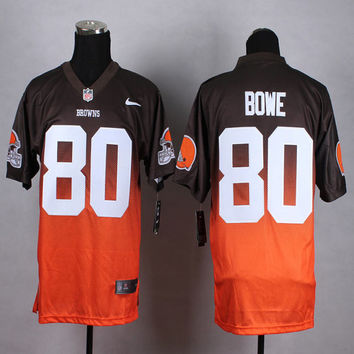 Football Sports Jersey Men Women Youth Kids Dwayne Bowe Cleveland Browns 80