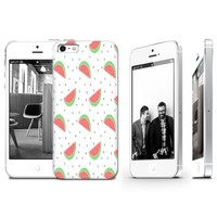 Watermelon Pattern Plastic Phone Case for Iphone 5 5s