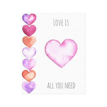 Love Is All You Need - Wall Print Art