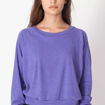 Purple Ruched T-shirt